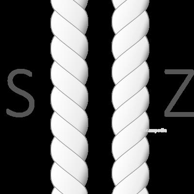 1-2 torsion hilo twist thread