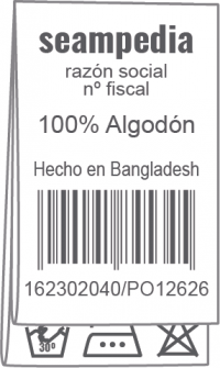 Etiqueta de conservación 2
