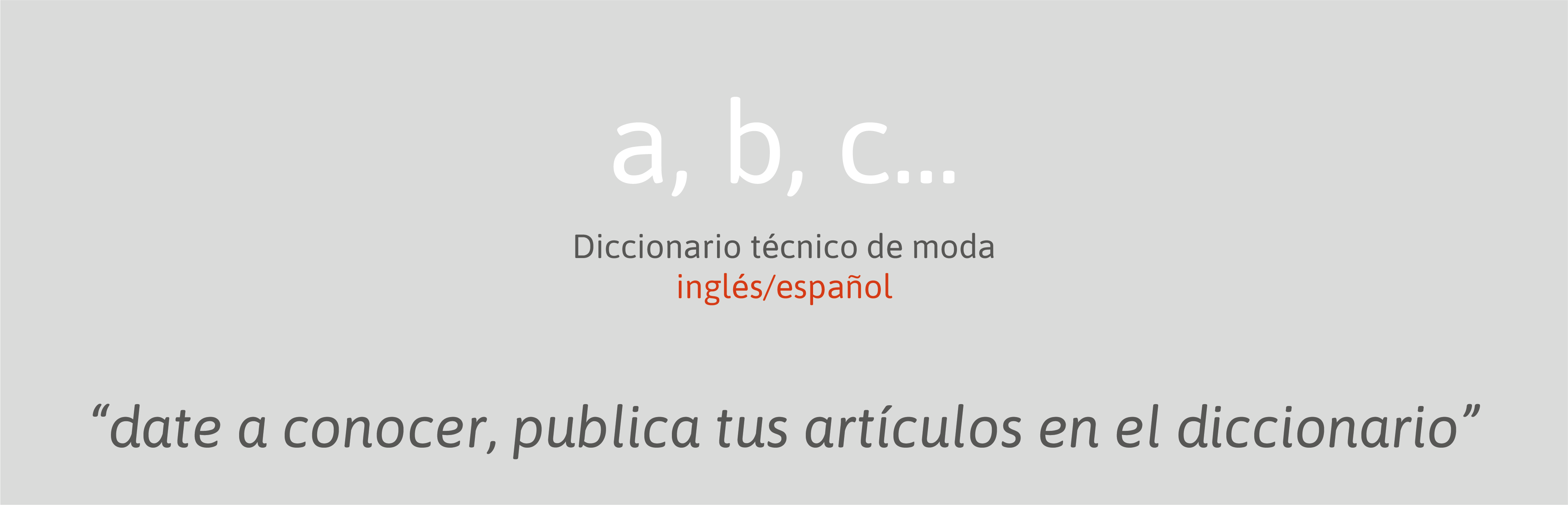 diccionario moda seampedia