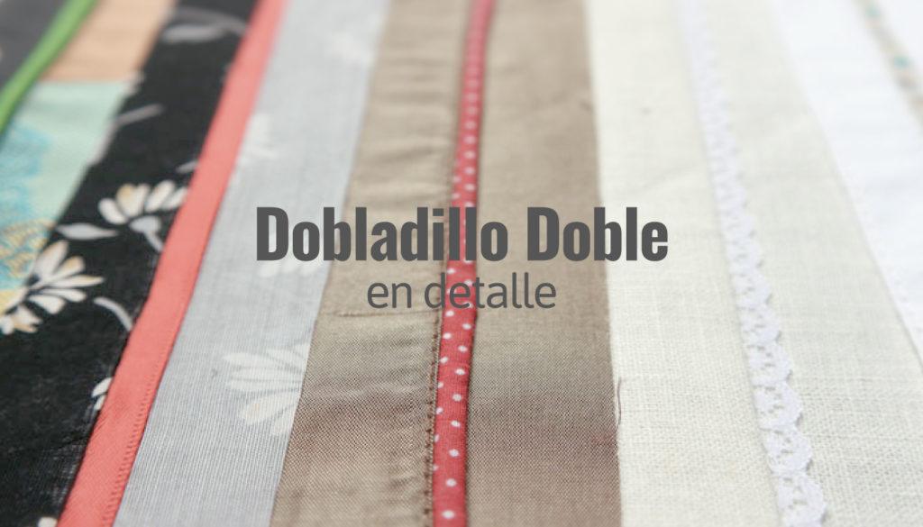 Dobladillo Doble con Detalle