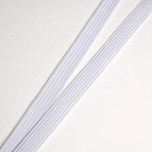 La cinta elástica trenzada en confección moda