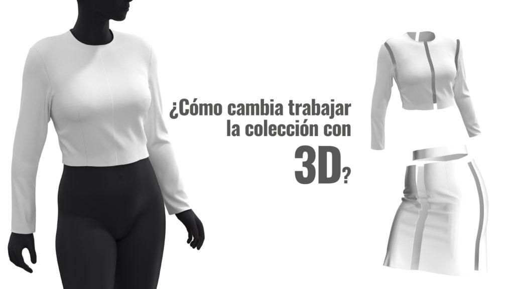 Cómo cambia trabajar la colección con 3D