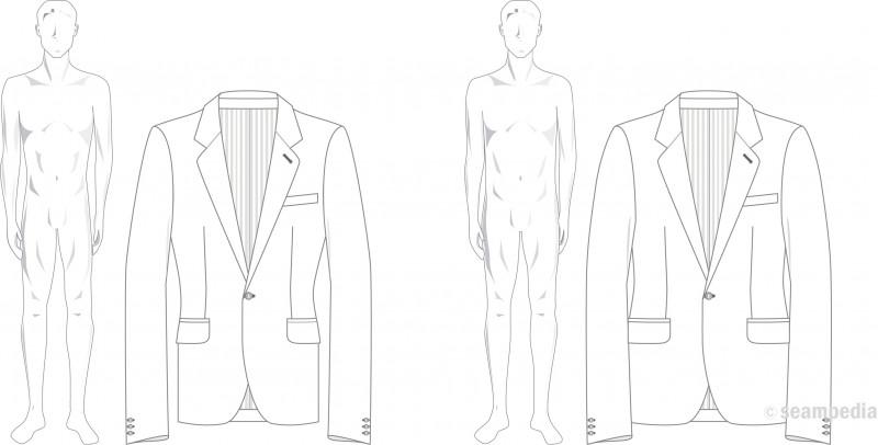 Drop en moda fashion hombre man americana suit jacket