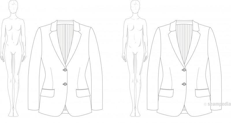 Drop en moda fashion mujer woman americana suit jacket