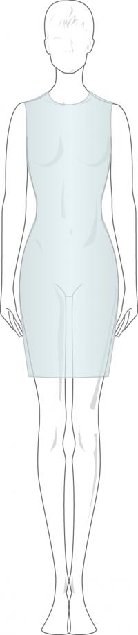 holgura en moda que es una prenda o vestido ceñido
