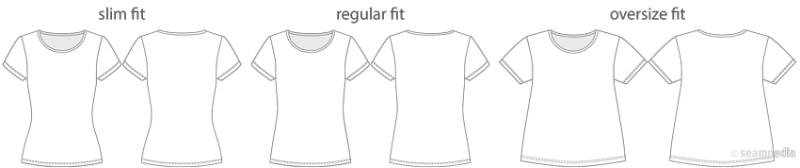 1-camisetafit holgura t shirt undershit tapeta ease