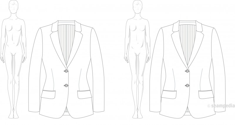 Artículo 3 Drop mujer woman americana suit jacket