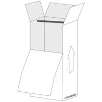 Caja prenda colgada