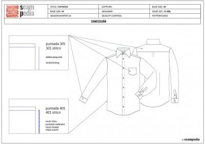 Ficha técnica confección