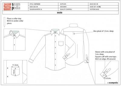 Ficha técnica de diseño