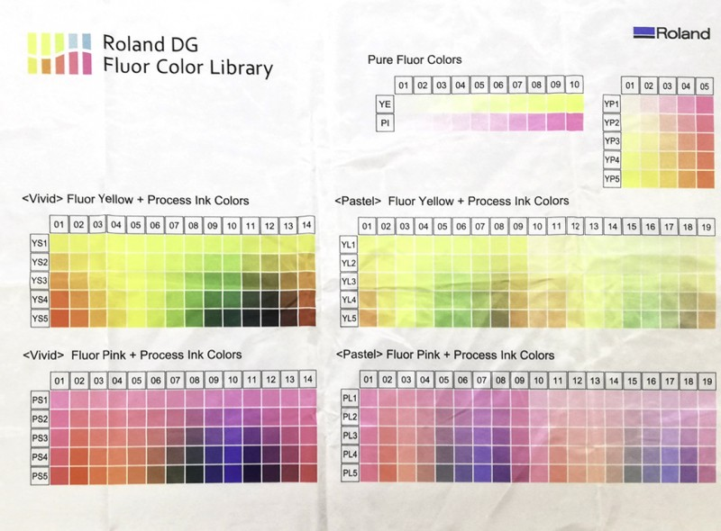 Impresión digital téxtil libro de color