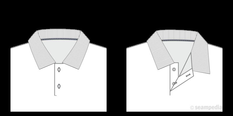 camiseta polo t shirt undershit tapeta placket