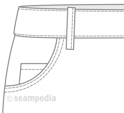 pasador belt loop